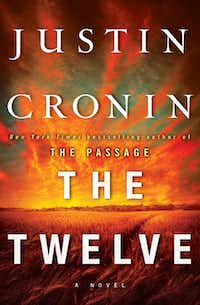 "This book cover image released by Ballantine shows ""The Twelve,"" by Justin Cronin. Cronin follows his best-selling ""The Passage"" with ""The Twelve,"" the second of a planned trilogy, on Oct. 16, 2012."
