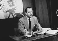 """As television grew, so did Walter Cronkite's reputation as """"the most trusted person in America."""""""