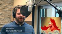 "Internet sensation and Dallas Baptist University student Brian Hull will emcee and perform at the group's spring concert. Hull's video of himself singing the song ""Let It Go"" from Disney's Frozen in 21 different Disney and Pixar character voices racked up more than 11 million views on YouTube.(YouTube)"