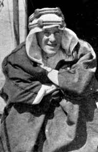 T.E. Lawrence, the adventurer immortalized as 'Lawrence of Arabia' for leading an army of desert warriors, is seen in this undated file photo.