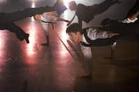 """Bruce Wood Dance Project performed the all-male """"My Brother's Keeper"""" in March."""
