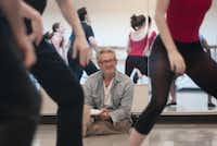 Choreographer Bruce Wood watched members of the Bruce Wood Dance Project rehearse in 2011.Rex C. Curry  - Special Contributor