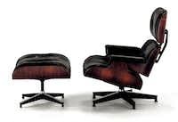 The requisite lounge for lairs: The iconic Eames Lounge Chair and Ottoman, $4,499, hermanmiller.com