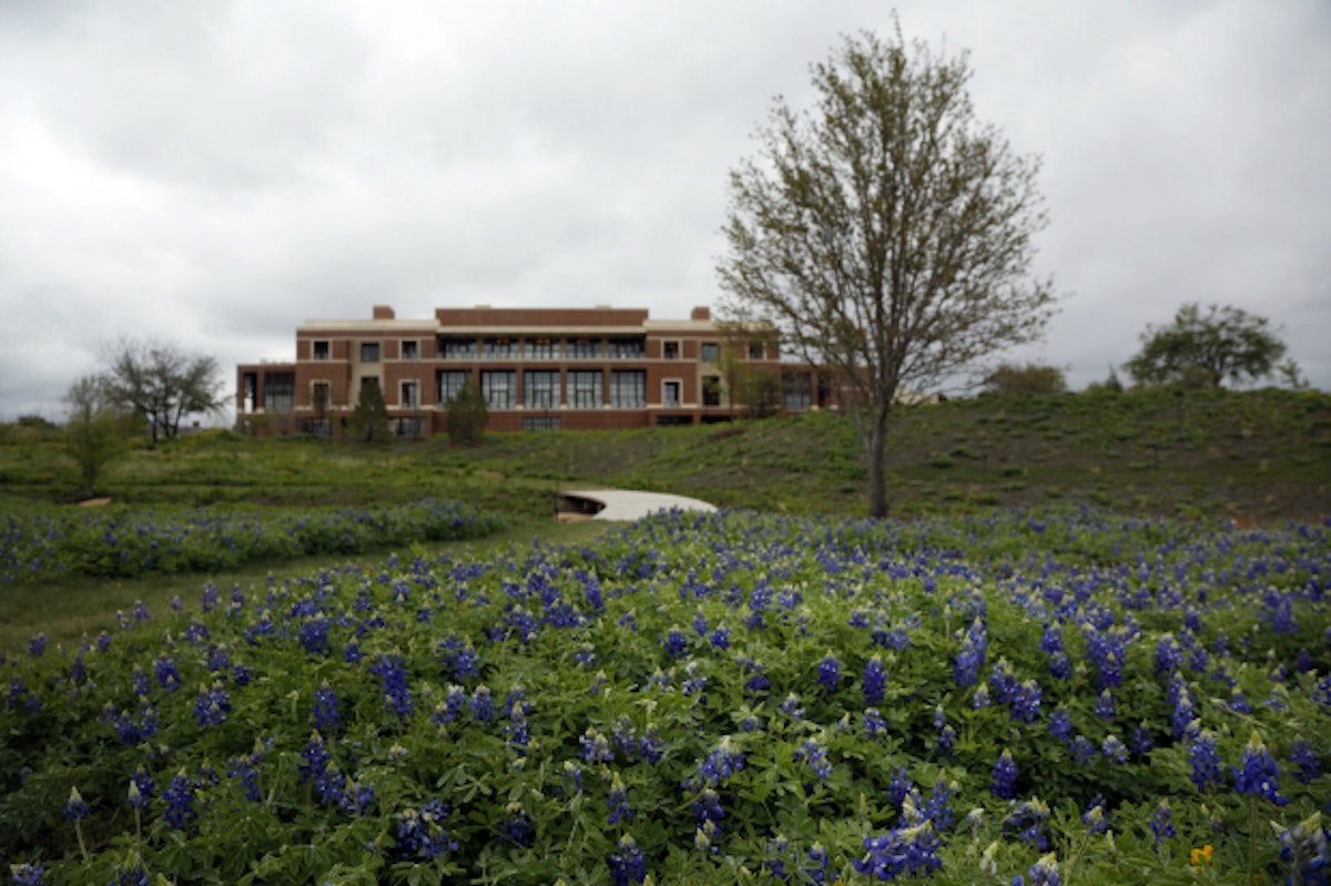 Bush Center Earns A Presidential Library First A Leed
