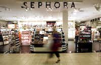 HIT: Sephora shops inside J.C. Penney — which bring cachet and customers to its stores — exist only because of Ullman. Ullman had been director general and group managing director of LVMH Moet Hennesse Hennessy Louis Vuitton in Paris, Sephora's parent company, when Sephora started opening U.S. stores. So Ullman could just pick up the phone and say let's make a deal.(Stewart F. House - Special Contributor)