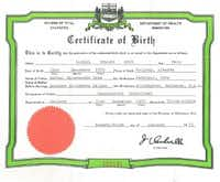 Canadian birth certificate for Sen. Ted Cruz