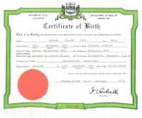 Canadian birth certificate for Sen. Ted Cruz