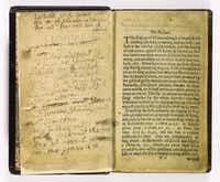 """Bay Psalm Books """"were used to death,"""" says David Redden, director of special projects and worldwide chairman of books and manuscripts for Sotheby's."""