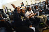 """Breyanna Oatman and fellow DeSoto High School chorale members sing """"Hey Jude"""" during rehearsal for a March 3 performance with Beatles tribute band Liverpool Legends.(Rose Baca - Staff Photographer)"""