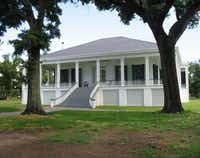 After: Beauvoir, a National Historic Landmark and now a museum, was restored under the leadership of the Mississippi Heritage Trust and its executive director, David Preziosi, who is now director of Preservation Dallas.