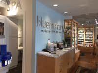 Bluemercury is a chain of upscale beauty shops and spas based in Washington D.C. This store opened in May 2015 in Highland Park Village and is its first in Texas.Maria Halkias  -   Staff Photo