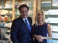 Co-founders Barry and Marla Malcolm Beck laid the foundation for Bluemercury online, then opened stores.(Maria Halkias -  Staff Photo  )