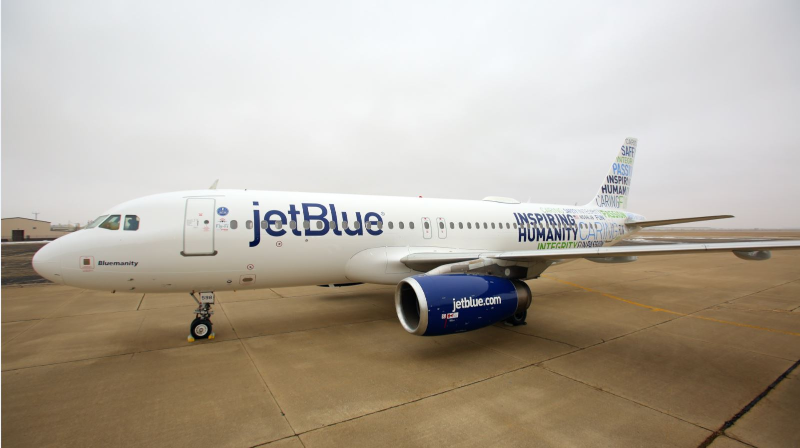 Jetblue Marks 15th Birthday With Blumanity Paint Job Airlines