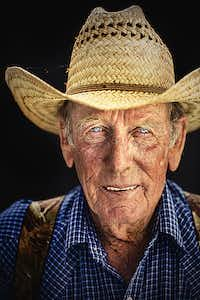 "Bobby Daniel Waggoner Cowboy since 1965 Bobby Daniel came to the Waggoner Ranch from the Halsell Ranch in 1965. He has three brothers and a bunch of nephews that work at the Waggoner Ranch. When he first came, he worked seven days a week, rather than the five and one-half days cowboys work now. ""I always wanted to work here,"" he says."