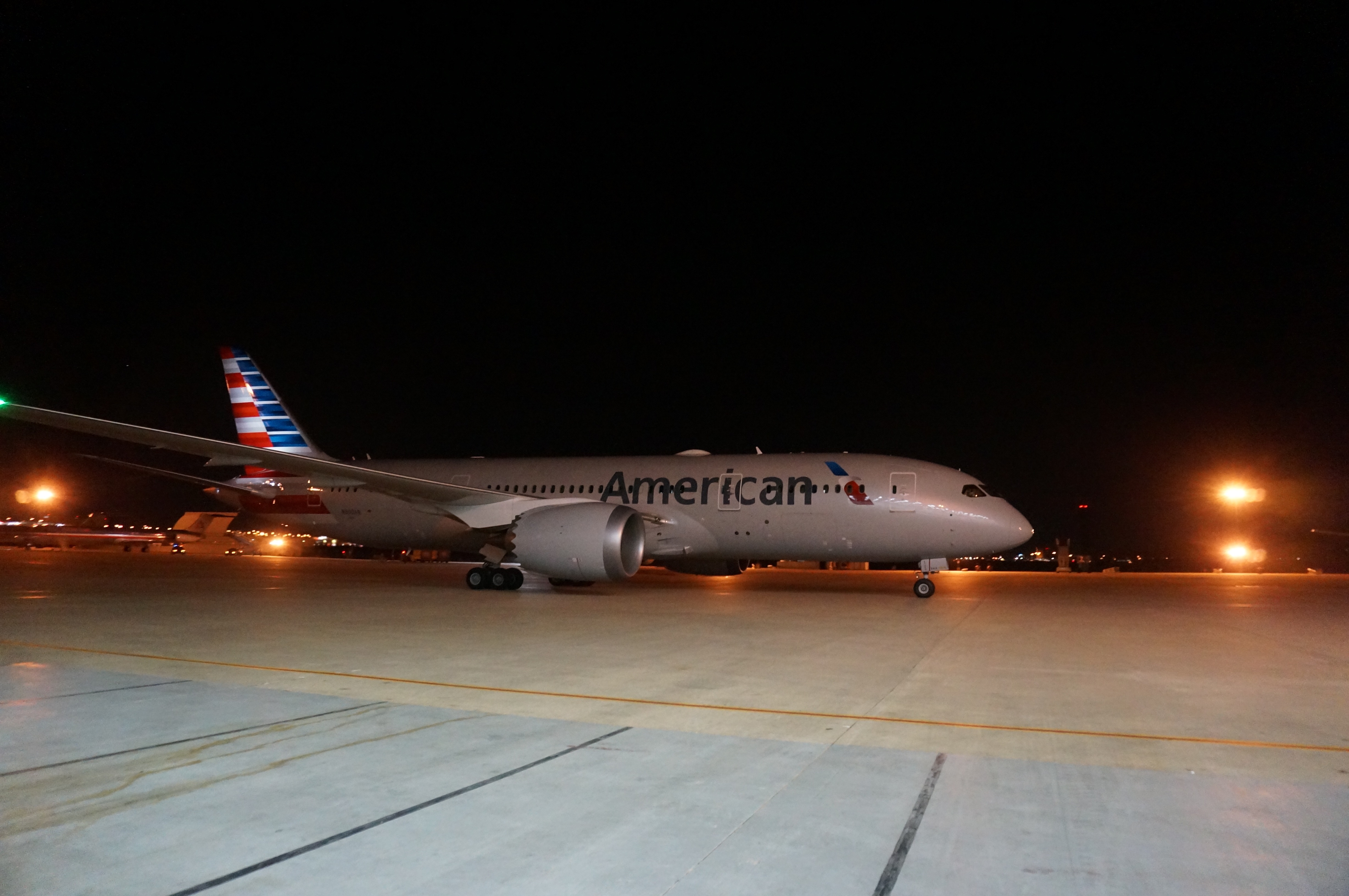 american airlines to fly boeing 787s from d fw airport to beijing