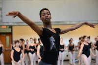 My'kal Stromile hopes his future career includes being in a dance company or doing choreography.Photo by ROSE BACA  - neighborsgo staff photographer