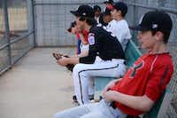The Bowden brothers, Austin, and Gavin, (above), who were born in England, will be teammates on the Great Britain 16U National Team. For their father, Russ Bowden, who grew up in Great Britain, it's a source of pride for his sons to be selected to represent his place of birth. The family moved to Richardson in 2001.(Rose Baca - neighborsgo staff photographer)
