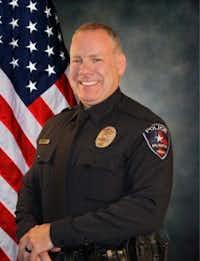 Arlington Police Officer Brad Miller