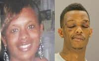 Authorities say Breshauna Jackson, left, was killed by the father of her unborn child, Tyrone Chistopher Allen, right, in 2013.