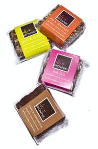 Oh*Brownie brownies, $3.75 each, or in boxes, silver buckets and boxed stacks, 800-317-8830, ohbrownie.com.Chris Plavidal