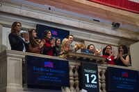 The Bush Center Fellows visited the New York Stock Exchange and met with representatives to discuss finance and free markets during a trip to a few U.S. cities.( Joyce Boghosian  -  George W. Bush Presidential Center )