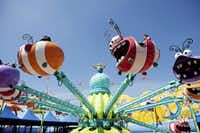 The Silly Swirly Fun Ride is featured in Super Silly Fun Land at Universal Studios Hollywood.Emily Berl  -  The New York Times