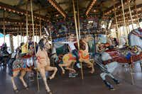 A carousel will be part of the fun at Summer Adventures in Fair Park.
