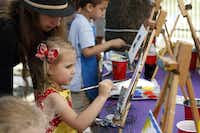 The Cottonwood Art Festival showcases works from more than 240 visual artists. Exhibited art will be available for purchase and will include paintings, sculptures, metalwork, digital pieces and more. Local bands will play at the Lakeside Courtyard, where you can also find food, and children can try out the ArtStop activities. Oct. 4-5 at Cottonwood Park, Richardson.Ben Torres  -  Special Contributor
