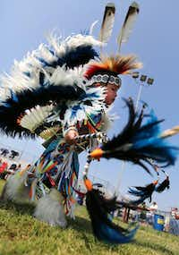 Tribal dance contests, arts and crafts, cultural demonstrations and American Indian food will be featured at this event, presented by the Dallas/Fort Worth Inter-Tribal Association. Sept. 19-21 at Traders Village, Grand Prairie. tradersvillage.com/grand-prairie.File 2013 - Ricky Moon/Special Contributor