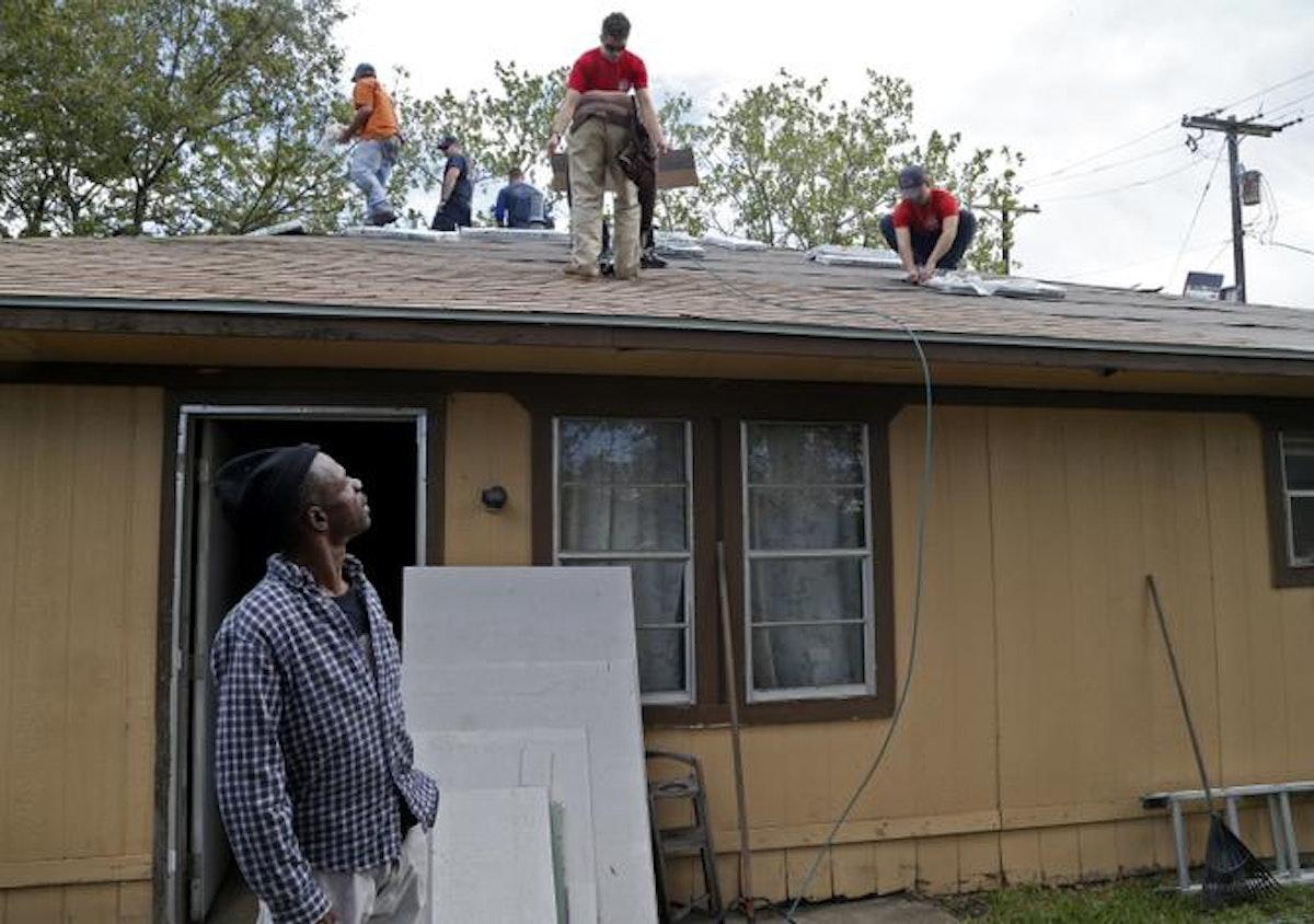 Rowlett Volunteers Repair Home Of Disabled Resident