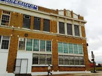 The Bowdon Foundation has purchased a former ice cream plant at Ervay and Griffin streets with plans to turn it into an arts center.( Steve Brown  - Staff)