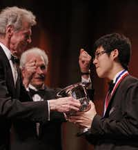 In 2009, Van Cliburn awarded the Van Cliburn International Piano Competition prize to Haochen Zhang of China, who shared the gold medal with Nobuyuki Tsujii of Japan.