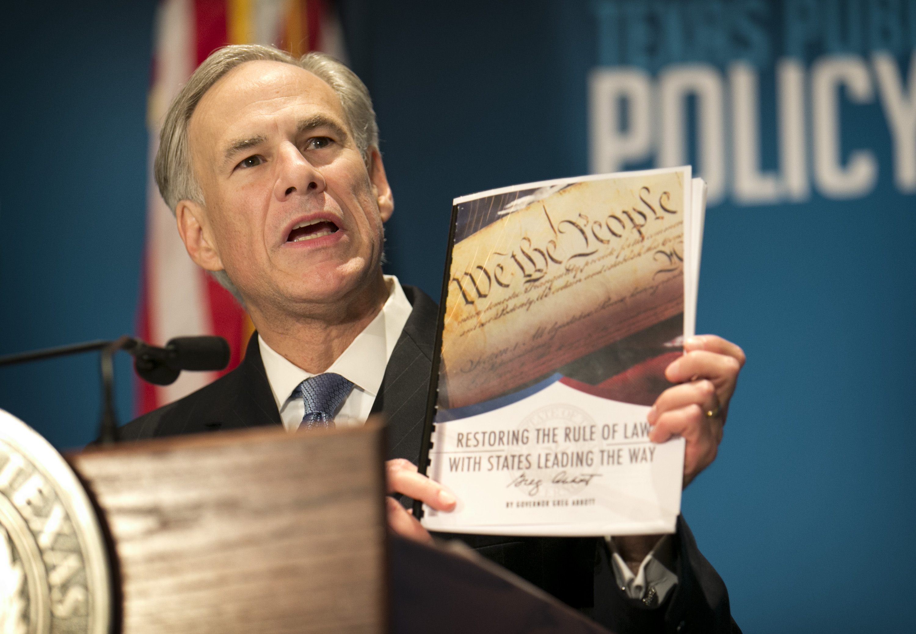 Texas Gov Greg Abbott Calls For Convention Of States To Take Back States Rights Politics Dallas News