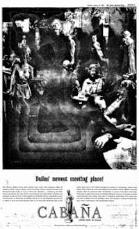 From the front page of a 14-page special section that appeared in The Dallas Morning News on Jan. 27, 1963