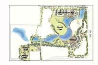 Improvement plans for Central Park(artist rendering)