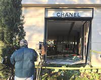 The Chanel store in Highland Park Village Monday morning (David Woo/Staff photographer)