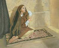 """Mary Sister of Lazarus"" by Chuck Gilliam(Colored Pencil Society of America)"