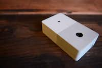 The hardware of Chui is about the length of an iPhone and is a little more than an inch thick.ROSE BACA
