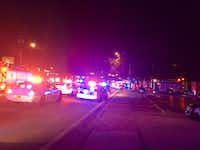 Orlando police swarmed to a gay nightclub after a mass shooting was reported there early Sunday. (Orlando Police Department)