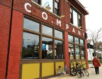 Company Brewing, which opened last year in the Riverwest neighborhood of Milwaukee, has a bar salvaged from the Schlitz tasting room.(Sheryl Jean/Special Contributor)
