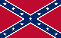 Known as Confederate battle flag, this is the symbol that's quickly losing favor.(Wikimedia Commons)