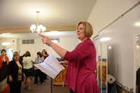 Contemporary Chorale director Melanie Moore has led the group for 14 years.(Rose Baca - neighborsgo staff photographer)