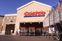 Costco in Southlake, TX (DMN Staff Photo Michael Ainsworth)