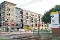 Junction 15 is expected to open up to its first apartment tenants in October. Rent will be about $1.50 per square foot for the one-, two- and three-bedroom apartments.Staff photo by JULISSA TREVIÑO - neighborsgo