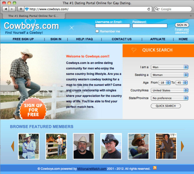 Gay online dating Australien