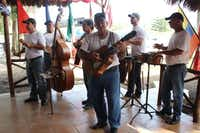 "Everywhere we went, we were greeted with a band and a ""welcome drink,"" usually a mojito or daiquiri.( Joy Tipping  -  Staff )"