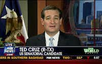 Ted Cruz spoke from Houston on Fox News on Monday in one of several late media appearances.
