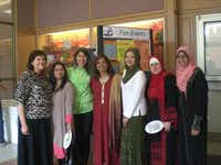 A group of women involved with MCOR attended a cultural movies event at Davis Library in Plano in September.( Photos submitted by GRACIELA KATZER )
