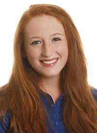 Daisy Tackett from University of Kansas Athletic Department 2014-15 Women's Rowing website.