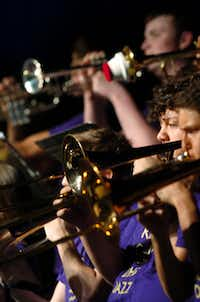 The Denton High School Lab Band 1 will be back for the Denton Arts and Jazz Festival.